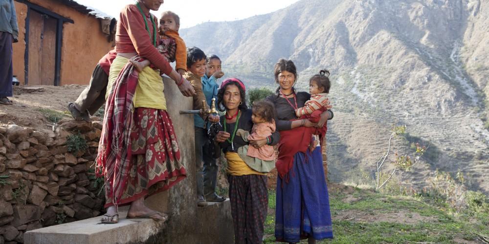 2012 Projektbesuch Liliane Eggli_WarM-P, DSW Drinking Water Scheme